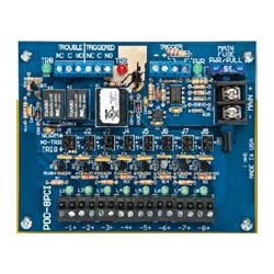 Securitron PDB-8C1R Eight-Output Power Distribution with Fire Trigger / Relay