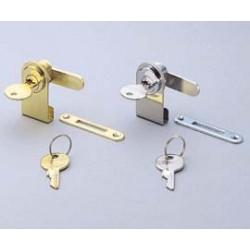 Sugatsune 1100GL / CR Glass Door Cam Lock - Chrome