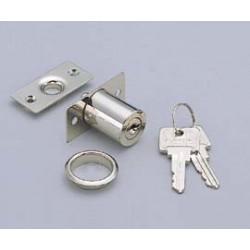 "Sugatsune 2160M-KD Push Lock - 24mm (15/16"") Door Thickness, Keyed Different"