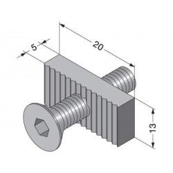 Sugatsune XL-US02-S012 Center Panel Clamp Fastener