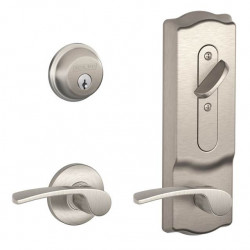 Schlage CS210 Series Interconnected Lock Camelot Escutcheon
