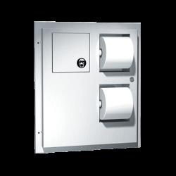 ASI 04823 Toilet Tissue Dispenser / Napkin Disposal – Recessed