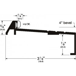 Pemko 165 Bumper Threshold-Sill for Outswing Doors