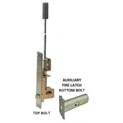 Cal-Royal AUXAUTOFLM1 Metal Door Automatic Flush with AUX Fire Latch