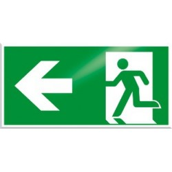American Permalight Man/Arrow Aluminum Directional Signage