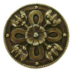 Notting Hill NHK-103 Celtic Shield Knob 1-1/8 diameter