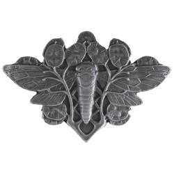Notting Hill NHK-120 Cicada on Leaves Knob 2 w x 1-3/8 h