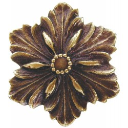 Notting Hill NHK-125 Opulent Flower Knob 1-5/8 diameter