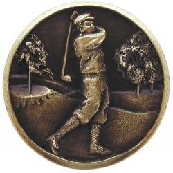 Notting Hill NHK-130 Gentleman Golfer Knob 1-1/8 diameter