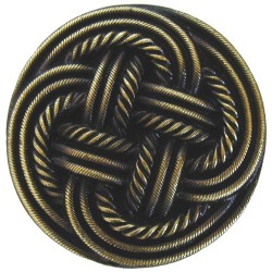 Notting Hill NHK-139 Classic Weave Knob 1-3/16 diameter