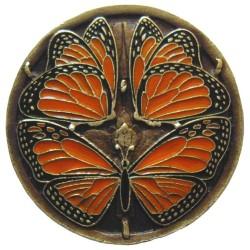 Notting Hill NHK-145 Monarch Butterflies Knob 1-3/8 diameter