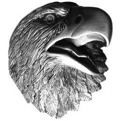Notting Hill NHK-151 Proud Eagle Knob 1-1/2 w x 1-5/8 h
