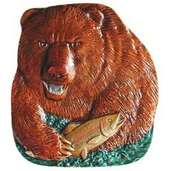 Notting Hill NHK-152 Shore Lunch (Bear) Knob 1-3/8 w x 1-5/8 h