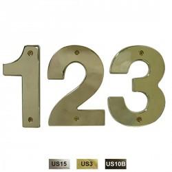 """Cal-Royal ZN5 Die Cast Numbers 0-9 5"""""""