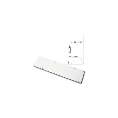 Cal-Royal ANO Aluminum Kick Plate with Screw
