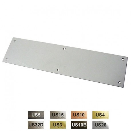 "Cal-Royal PSPL4016 Push Plate 0.050"" x 4"" x 16"""