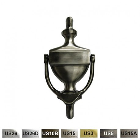 Cal-Royal SBDK356 Solid Brass Door Knocker