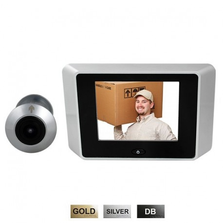 Cal-Royal ELDVBEL150 Electronic Digital Door Viewer
