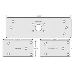 "Cal-Royal 806 Panic Vertical Rod Shim Kit 1/8"" Thick"