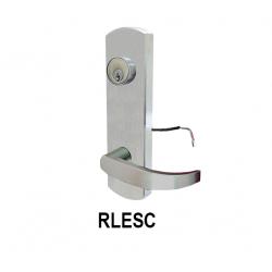 Cal-Royal RLESC9800 Escutcheon Rigid Exit Device Trim Leverset