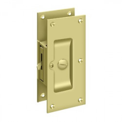 "Deltana Decorative Pocket Lock 6"" , Privacy"