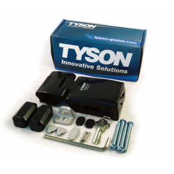 TYSON USA High Security HLSH-SC Single-Hinge Model HaspLock