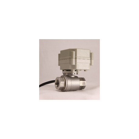 Leak Gopher LGVLV36 Water Valve NSF Approved Stainless Steel Electronic with Conductor