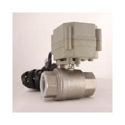 Leak Gopher LGVLV-12V-6 Water Valve NSF Approved Stainless Steel Electronic