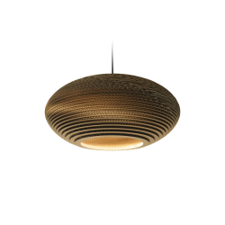 Graypants GP-141 Disc Pendant Natural Scraplights