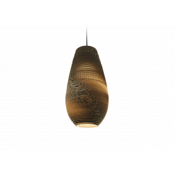 Graypants GP-211 Drop Pendant Natural Scraplights