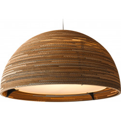 Graypants GP-251 Dome Pendant Natural Scraplights
