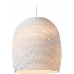 Graypants GP-1121 Bell Pendant White Scraplights