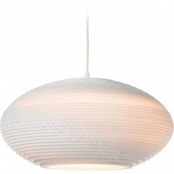 Graypants GP-1141 Disc Pendant White Scraplights