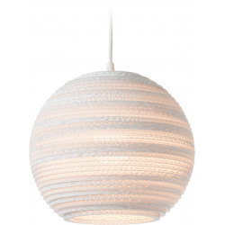 Graypants GP-1161 Moon Pendant White Scraplights