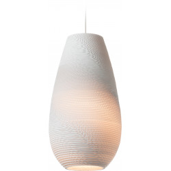 Graypants GP-1211 Drop Pendant White Scraplights