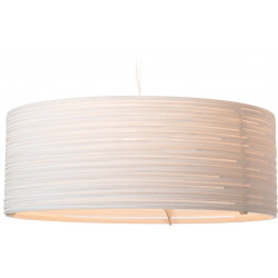 Graypants GP-1151 Drum Pendant White Scraplights