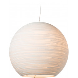 Graypants GP-1201 Sun Pendant White Scraplights