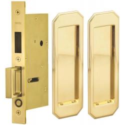 Omnia 7039 Series Door Lock with Traditional Trim