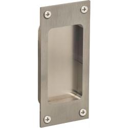 Omnia 7012/0 Traditional Rectangular Flush Pull