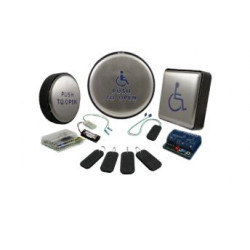 BEA PUSH PLATE JAMB-900 Security Push Plate Packages