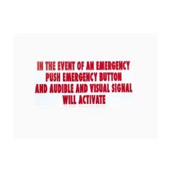 BEA 70.5675 Emergency Signage