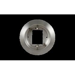 "BEA 10ESCUTCHEON  6"" Round Surface Mount Box, Stainless Steel"