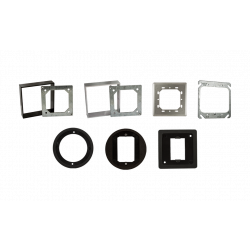 """BEA 10WRSQ475 Weather Ring for 4.5"""" Square Box"""
