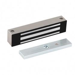 Locknetics WMG Series Weaterproof maglock, Satin Stainless Steel