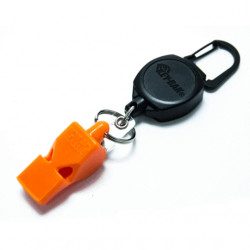 Key-Bak 0KBP-0041 Retractable Fox 40 Safety Whistle