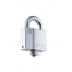 Abloy Sentry PLM350B Hardened Steel Padlock with Sealed Shackle and Weather Seal Cap