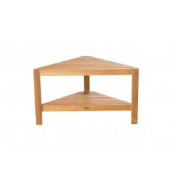 ARB Teak BEN558 Fiji Corner Footrest w/ Shelf