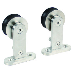 Pamex DD11 Top Mount, Single Wheel, for Wood Doors, Soft Closing