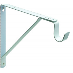 Pamex DD06-33WC Heavy Duty Fixed Shelf & Rod Support Bracket