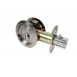 "Pamex PF22 Round Sliding Door Locks (2-3/8"" Backset Standard)"